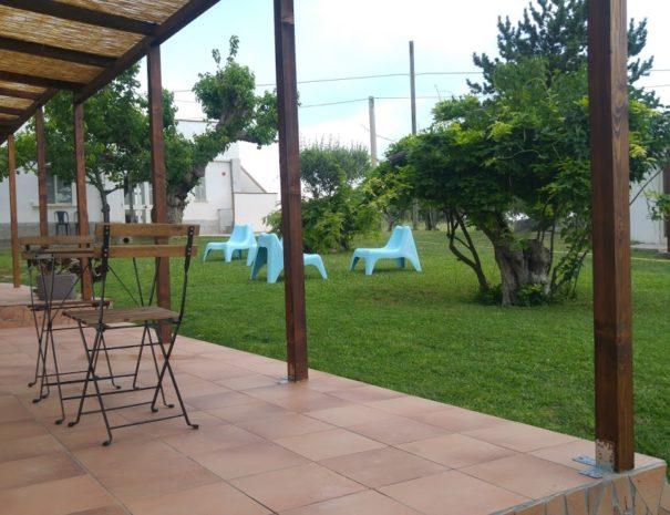 veranda trab e majella + faramella e giardino